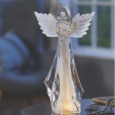 Fiber-Optic Angel Light