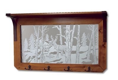'Wildlife Reflections' Mirror Rack
