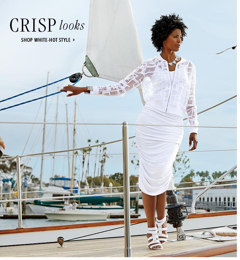 Crisp Looks - Shop White-Hot Style