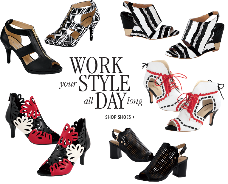 Work Your Style All Day - Shop Shoes