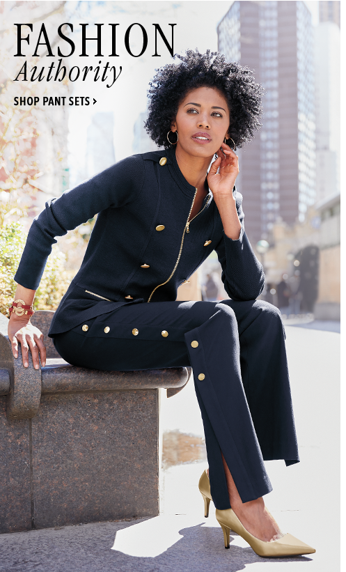 Fashion Authority - Shop Pant Sets, featuring Brynnlee Cardigan and Nika Wide Leg Pant