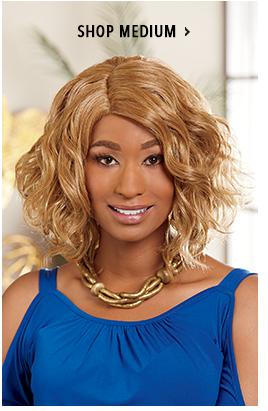 Shop Medium Wigs, featuring ebonee wig