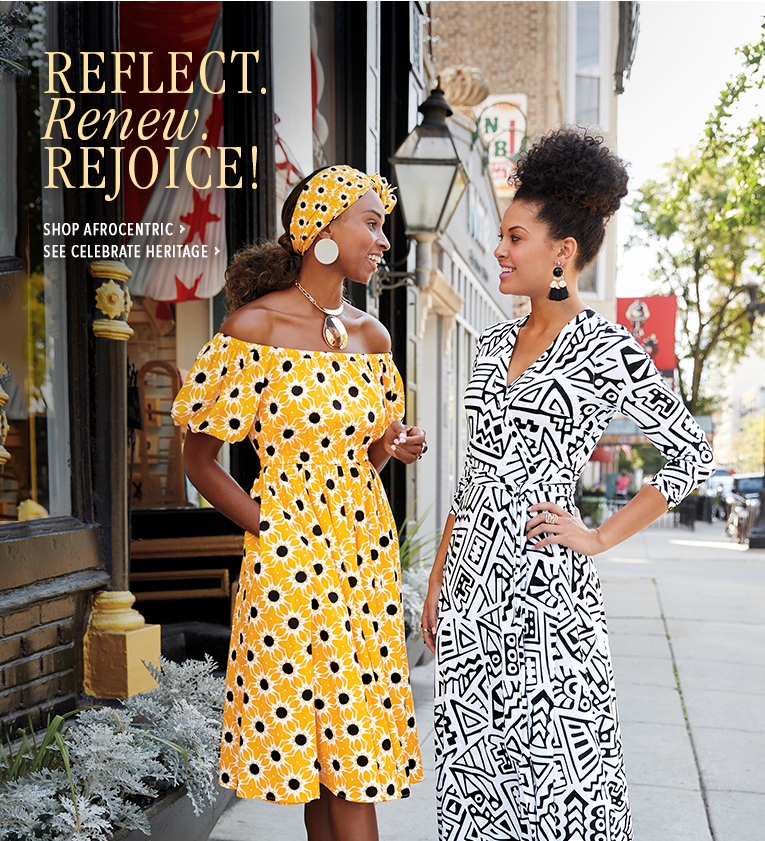 Reflect. Renew. Rejoice! Shop Afrocentric Clothing, featuring Nefertari Dress