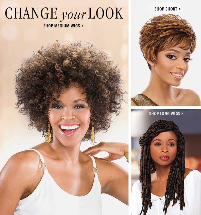 Change Your Look Shop Medium Wigs, featuring Captivating Katrina Wig