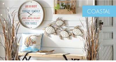 You Donu0027t Need To Live On The Water To Embrace Carefree Coastal Décor