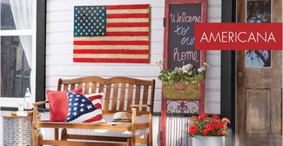 Americana & Americana Décor - Patriotic 4th of July Rugs Wreaths | Country Door