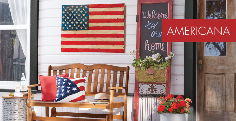 Americana Dcor Patriotic 4th Of July Rugs Wreaths Country Door