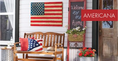 Americana & Americana Décor - Patriotic 4th of July Rugs Wreaths u0026vert ...