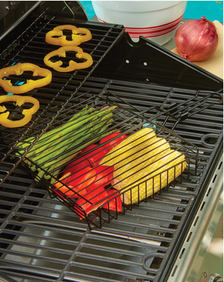 Banner: All Fired Up! Featuring the Nonstick Grilling Basket