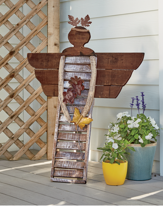 Link to Outdoor Decor category, featuring the Garden Angel