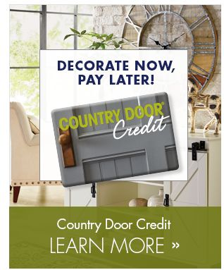 Banner - Country Door Credit Learn More!  sc 1 th 246 & Country Door   Kitchen Furniture Bedding Home Décor