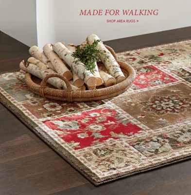 Banner: Made For Walking Shop Area Rugs, Featuring Bristol Rug