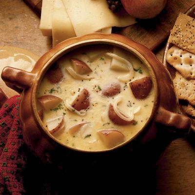 Wisconsin Cheesy Potato Soup