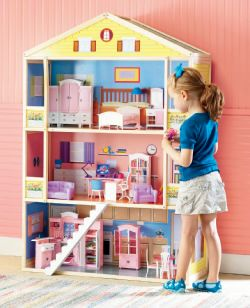 Doll Townhouse & Furniture