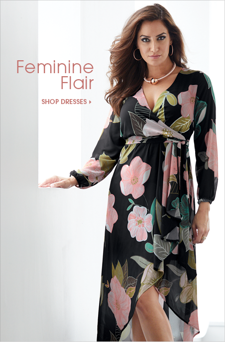 Feminine Flair Shop Dresses, featuring Floral Charm Dress