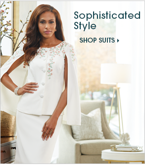 Sophisticated Style Shop Suits, featuring Garden Party Skirt Suit