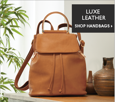 Luxe Leather Shop Leather Handbags, featuring Cory Backpack