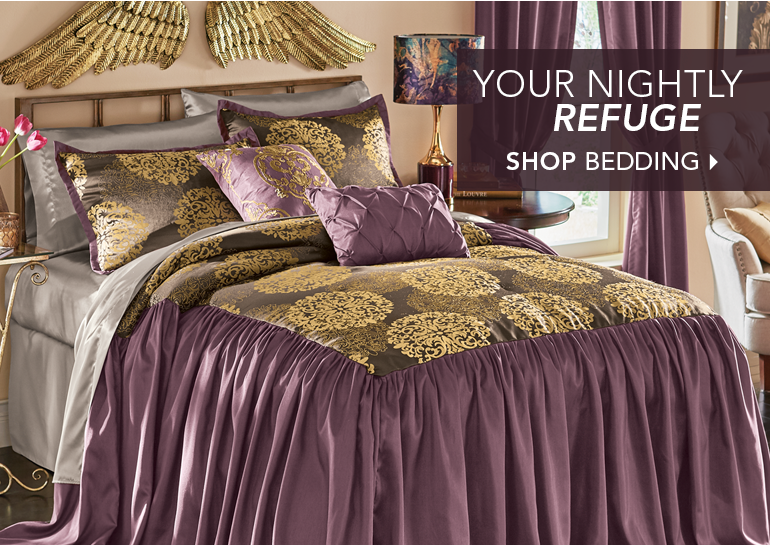 Your Nightly Refuge Shop Bedding, featuring Lexington Bedspread Set