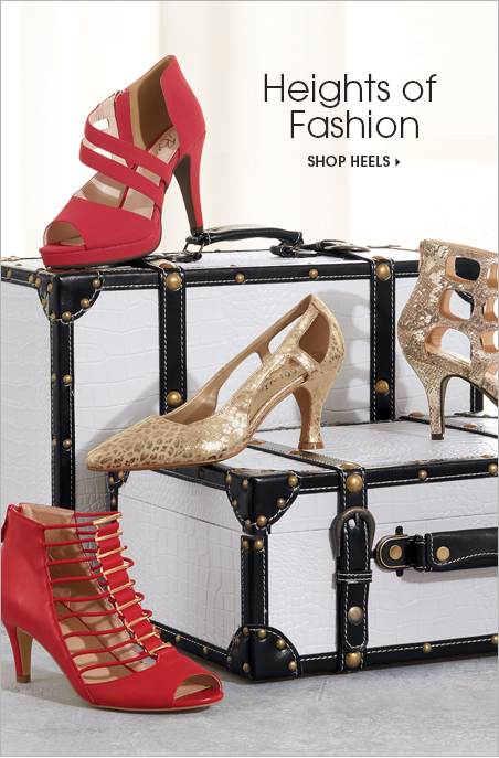 Heights of Fashion Shop Heels, featuring Fiona Shoe by Beacon Zoom Pump Lakewood Gladiator Stretch Strap Gladiator