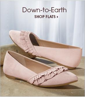 Down-to-Earth Shop Flats, featuring Junia Flat