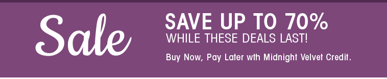 Sale - Save Up to 70% while deals last