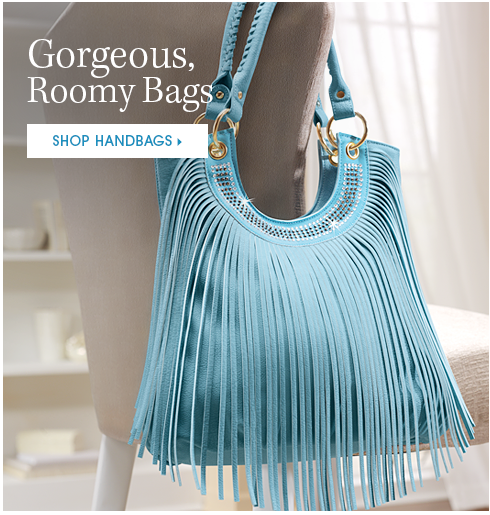 Gorgeous, Roomy Bags Shop Handbags, featuring Sara Fringe Handbag