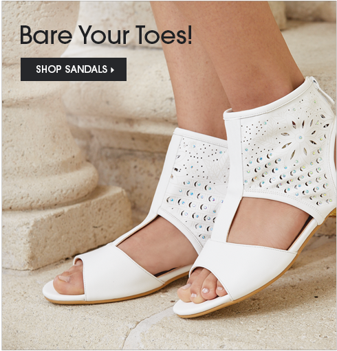 Bare Your Toes! Shop Sandals, featuring High Top Sandal by MV