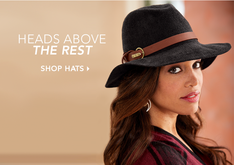Heads Above the Rest  - Shop Hats, featuring Fedora with Band