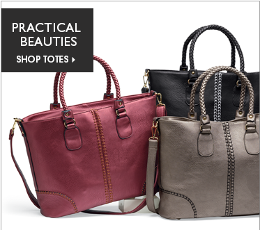 Practical Beauties - Shop Totes, featuring Whipstitch Accented Tote