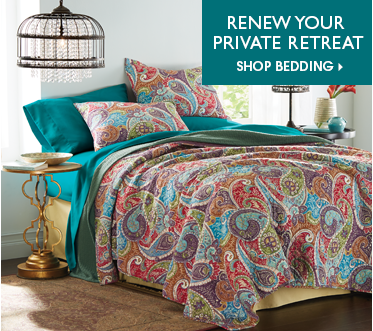 Renew Your Private Retreat - Shop Bedding, featuring Tristan Oversized Quilt