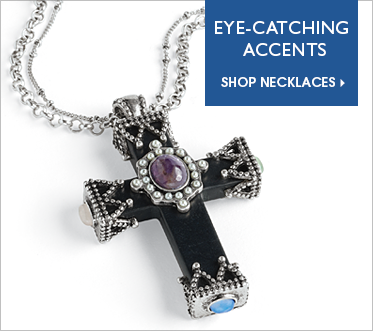 Eye-Catching Accents - Shop Necklaces, featuring Filigree Cross Pendant