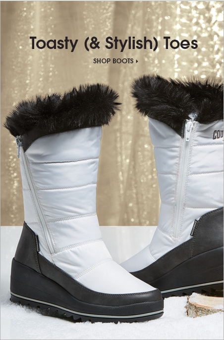 Banner Toasty Stylish Toes Boots Featuring Logan Boot