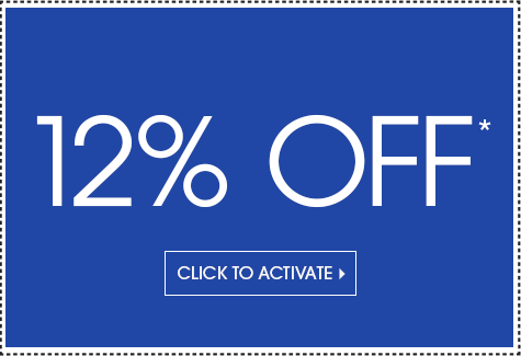 Save 12% on your entire purchase!