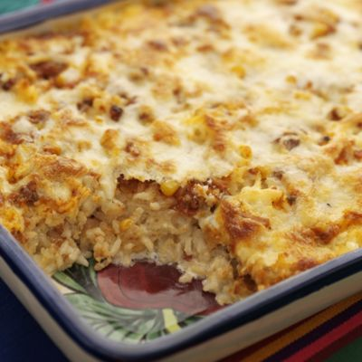 Mexican Rice With Salsa And Wisconsin Cheeses (Arroz Con Salsa Y Quesos De Wisconsin)