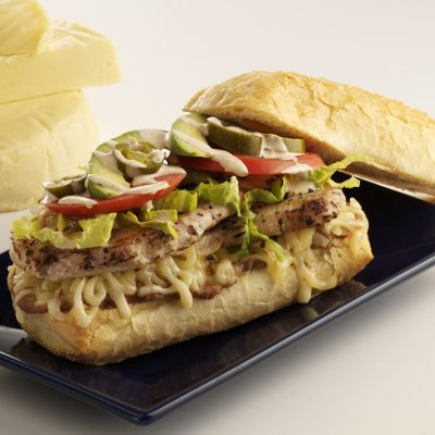 Mexican Torta With Wisconsin Queso Quesadilla Cheese
