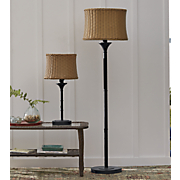 Wicker Shade Lamps