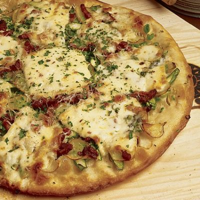 Oliveto Pizza With Wisconsin Brick