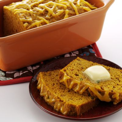 Indian-Spiced Pumpkin Bread With Wisconsin Colby