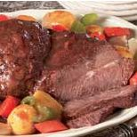 Fully-Cooked Homestyle Beef Pot Roast au jus