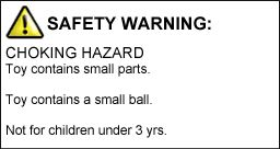 SAFETY WARNING!