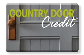 Country Door credit