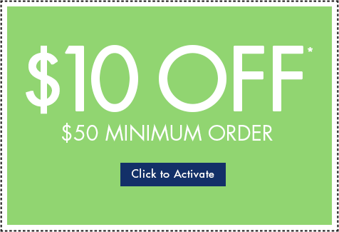 10% Off Your Order of $50 or More!