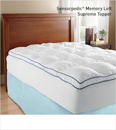 Sensorpedic Memory Loft Supreme Topper