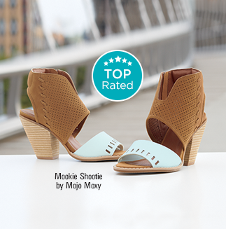 Best Foot Forward The stylish sandals, shooties, pumps and flats our customers can't live without.