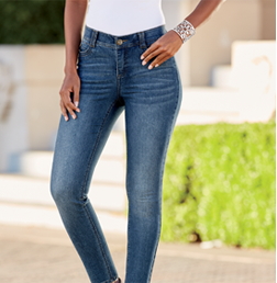 Shop Jeans, Featuring Hailey Control Ankle Grazer