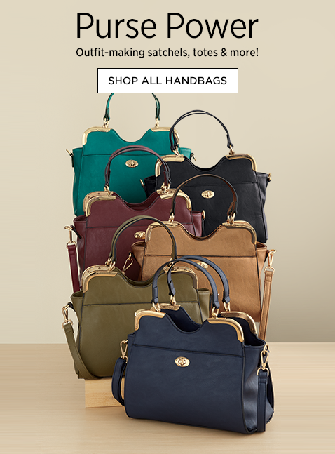 Purse Power! Outfit-making satchels, totes and more! All Handbags, featuring Lulu Satchel