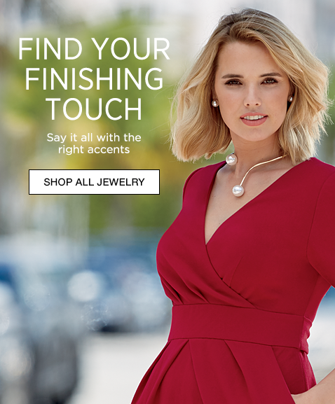 Find Your Finishing Touch   - Say It All With The Right Accents - Shop All Jewelry, Featuring Faux Pearl Wire Jewelry