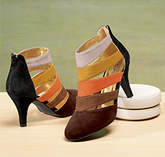 Shop Heels, Featuring Multicolor Strap Heel