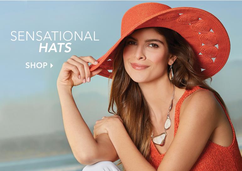 Sensational Hats  - Shop Hats Featuring Open-Brim Weave Hat