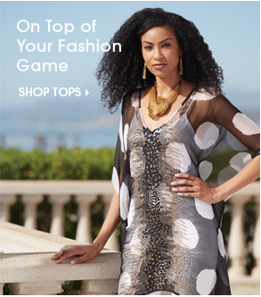 On Top of Your Fashion Game - Shop Tops Featuring Circle Around Caftan